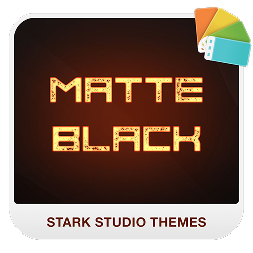 MATTE BLACK Xperia Theme
