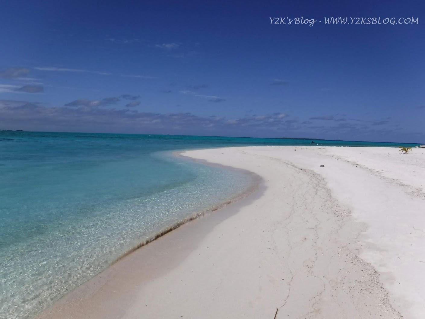 Le spiagge e la laguna di Palmerston