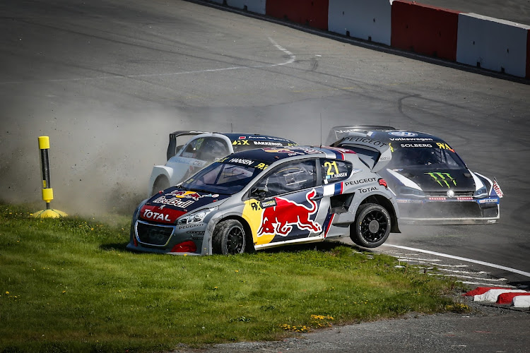 World RX is a high-action combination of rallying and circuit racing on mixed dirt and tar. Picture: SUPPLIED