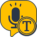 Speech to Text -Voice Typing app, Voice to Text icon