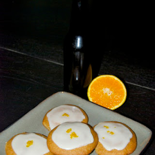 Belgian Wit Beer Cookies.