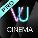 VU Cinema  VR 3D Video Player icon
