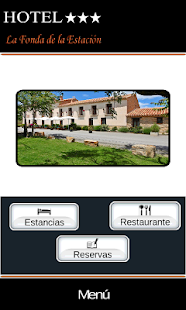 Hotel La Fonda de la Estación Screenshot