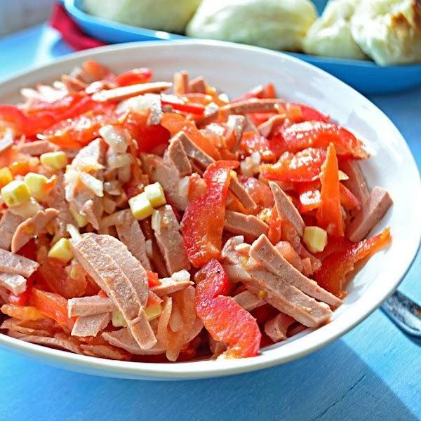 Wurstsalat (german Bologna Salad) Recipe