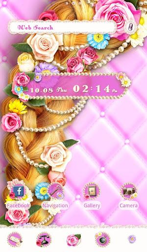 Cute Theme-Flowery Princess- 1.0.0 Windows u7528 5