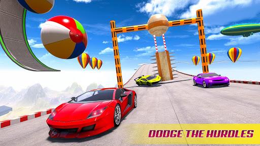 Mega Ramp Car Racing Stunts 3D - Impossible Tracks apktreat screenshots 2