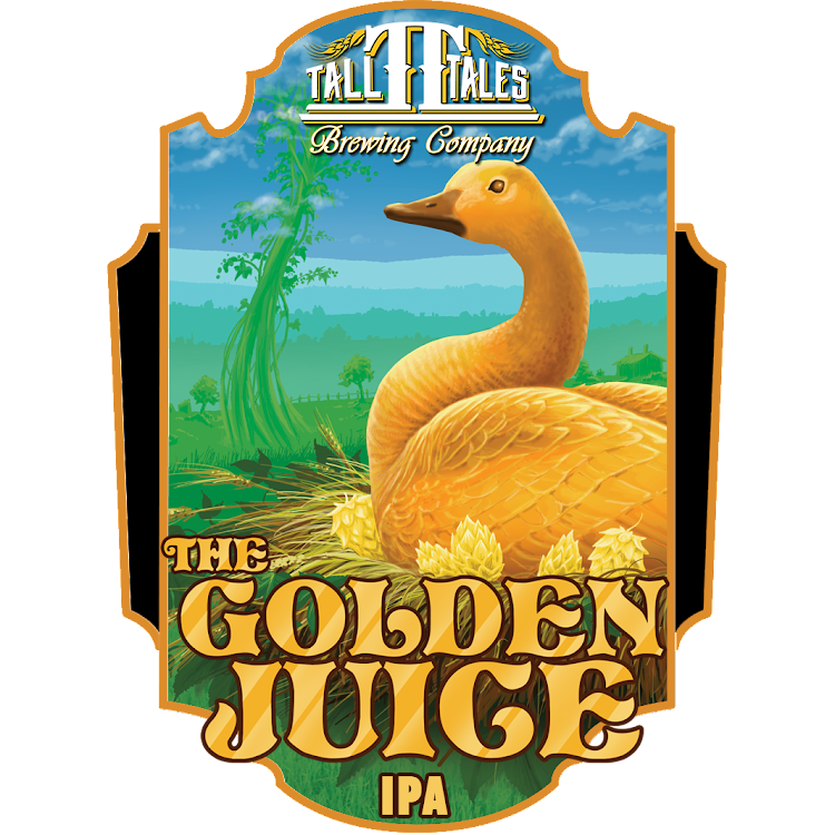 Logo of Tall Tales Golden Juice