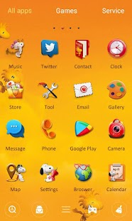Snoopy GO Launcher Theme- screenshot thumbnail