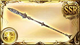 銀の依代の槍
