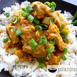 Simple Chicken Curry.