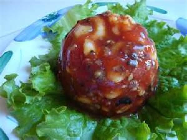 Shrimp Aspic Salad. A Nice Refreshing Salad For Summer.