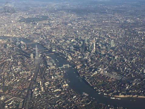 London from air