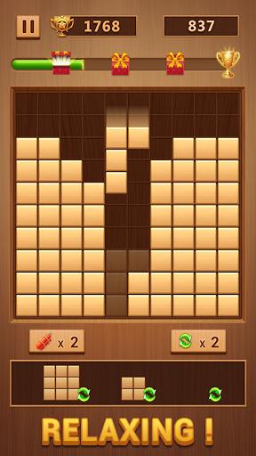 Wood Block - Classic Block Puzzle Game apktram screenshots 1