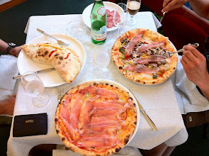 Photo: Eating real Italian pizza in Cortina