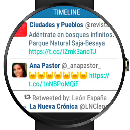 Wear for Twitter- screenshot
