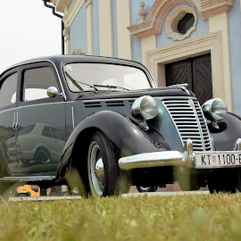 oldtimer by Miroslav Bičanić - Transportation Automobiles ( exhibition, topolino, oldtimer, beauty, fiat )