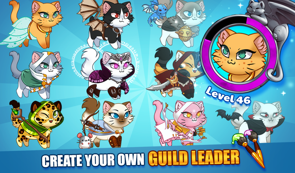 Castle Cats: Epic Story Quests- หน้าจอ