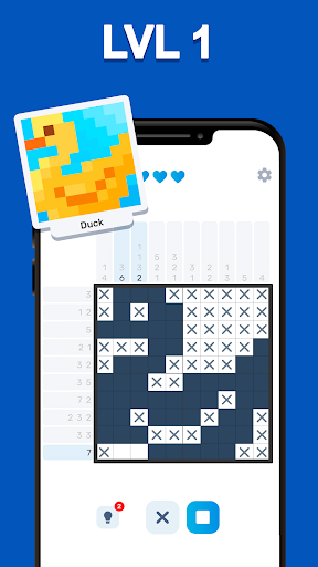 Nonogram Logic - picture puzzle games 0.8.3 screenshots 1