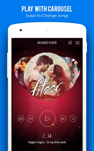 MX Audio Player- Music Player 1.22 screenshots 1