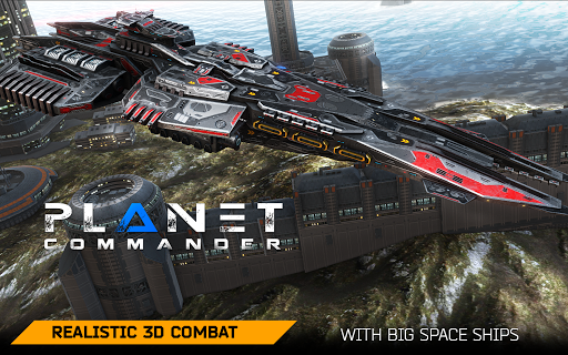 Planet Commander Online: Space ships galaxy game 1.14 screenshots 21