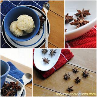 Coconut Anise Ice Cream.