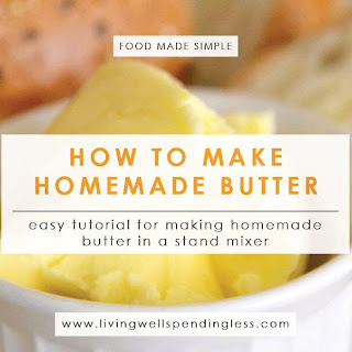 How to Make Homemade Butter.