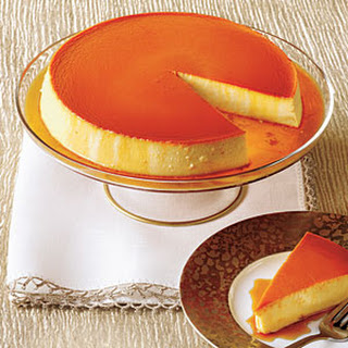 Caramel-Cream Cheese Flan Recipe