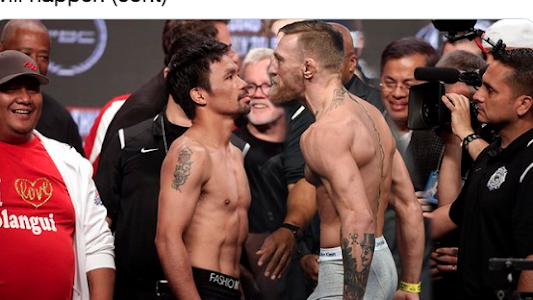 Reaksi Manny Pacquiao Lihat Conor McGregor Dihabisi pada UFC 257