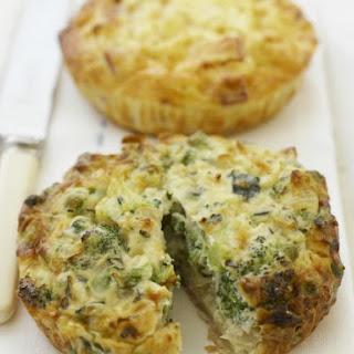 Individual Broccoli Quiches.