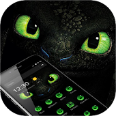 Green Dragon Eyes Theme Android APK Download Free By Fancy Amazing Theme Center