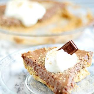 my grandmother's Hershey Pie ~aka S'more Pie
