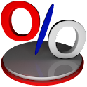 Porcentaje Calculadora Gratis icon