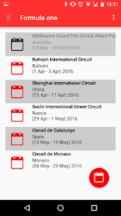 Motorsport Calendar - náhled
