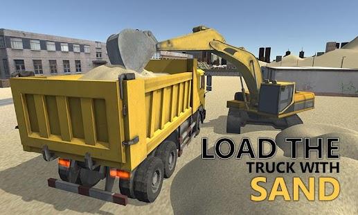 Sand-Excavator-Truck-Sim-3D 1