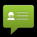 vCard via SMS icon