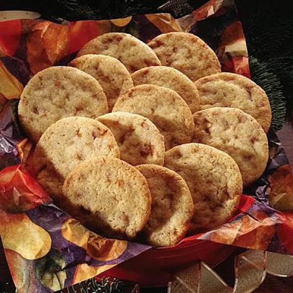 Almond Brickle Sugar Cookies Recipe