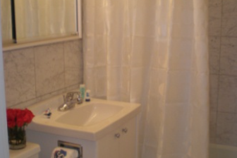 Family bathroom at 2 Bedroom Apartment at East 52nd Street