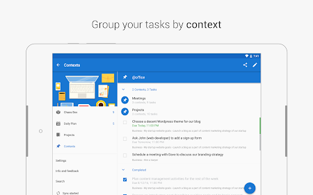Chaos Control: Task List & GTD 1.7.1 screenshot 562445