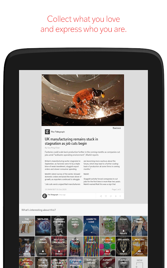 Flipboard: News For Any Topic- screenshot