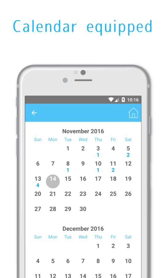 The most easy-to-use Diary App- screenshot