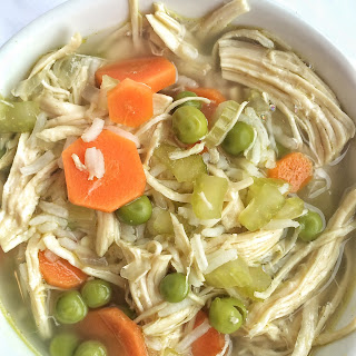 Rice & Vegetable Chicken Soup