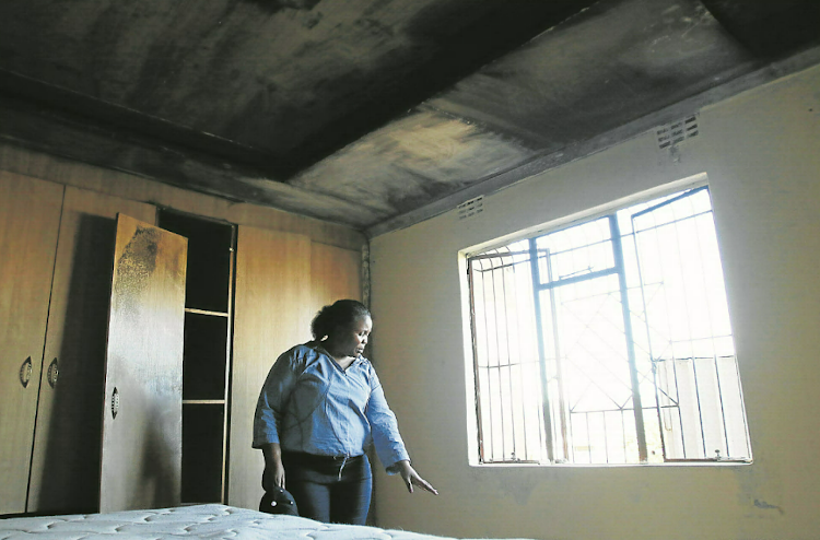 Councillor Zameka Kodwa-Gajula of Ward 24 in Mdantsane survived an attack after her house was set alight on Thursday morning. No one was hurt but all the property was burnt to ashes.