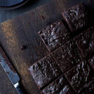 Chocolate Brownies with Tofu.