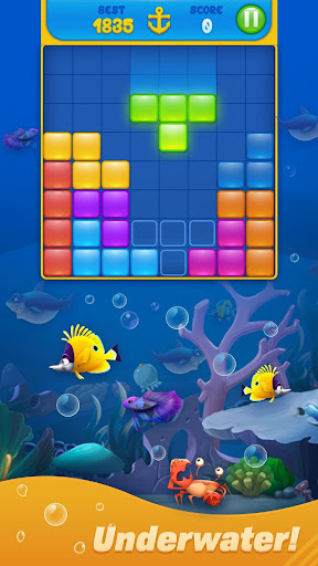 Save Fish - Block Puzzle Aquarium 13.0 screenshots 3