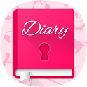 Diary - Journal with password icon