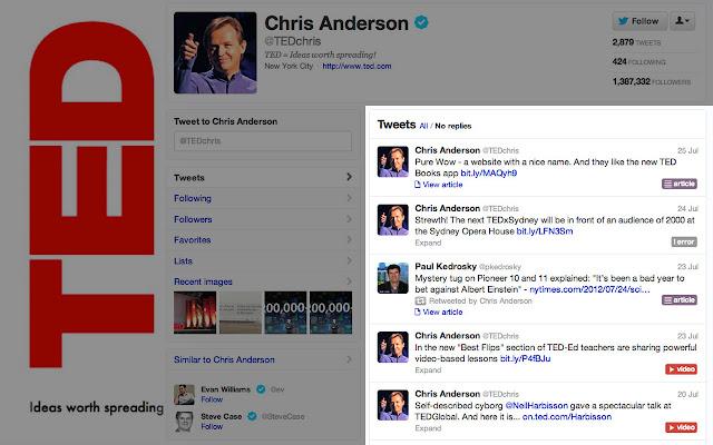 Twitter Link Classifier by Diffbot