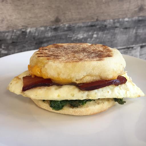 Egg + Bacon Sandwich