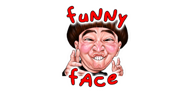 Funny Face WhatsApp Stickers