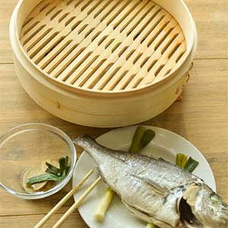 Chinese Steamed Whole Sea Bream