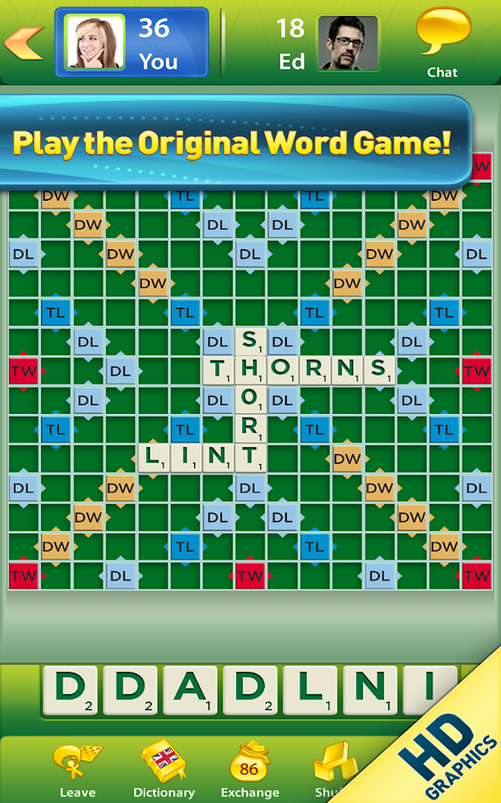 SCRABBLE™- screenshot